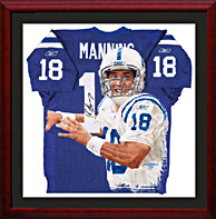 Giclee print on Canvas of Peyton Manning