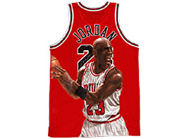 View More Hand-Painted Basketball Jerseys